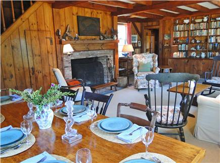 East Orleans Cape Cod vacation rental - Gather for meals inside or out