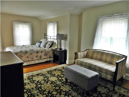 Hyannis Cape Cod vacation rental - Master Bedroom with seating area