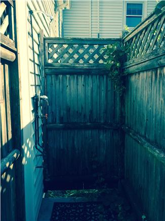 Harwich Cape Cod vacation rental - Outside Shower for your enjoyment