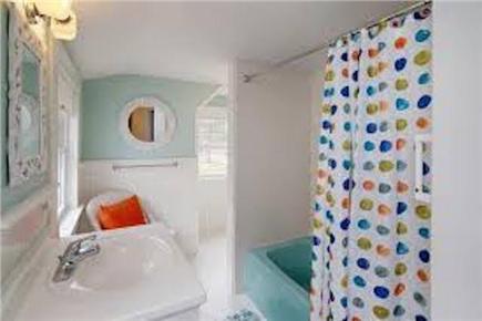 Harwich Cape Cod vacation rental - Upstairs Bathroom