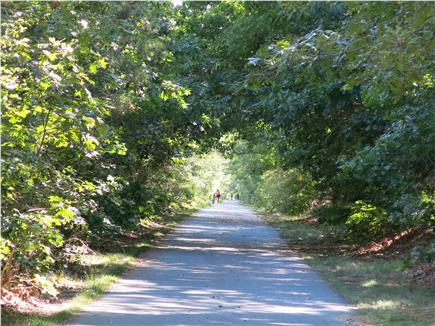 Eastham Cape Cod vacation rental - Rail Trail bike path