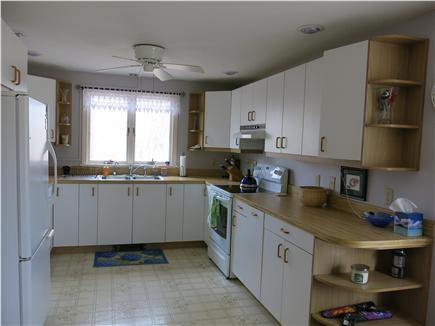Eastham Cape Cod vacation rental - Well-equipped kitchen w dishwasher, 5 burner glasstop stove