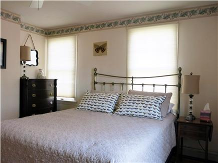 Eastham Cape Cod vacation rental - Lower level Queen bedroom w A/C