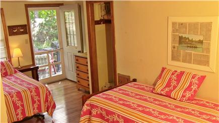 North Eastham Cape Cod vacation rental - Twin Bedroom has a loft area above.