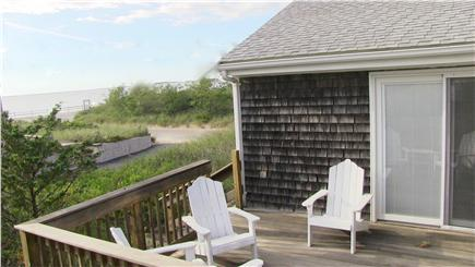 North Eastham Cape Cod vacation rental - The Upper Deck is a sunny, private retreat with ocean views.