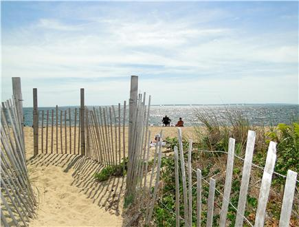 Falmouth Heights Cape Cod vacation rental - Vast & beautiful Bristol beach – two minute walk