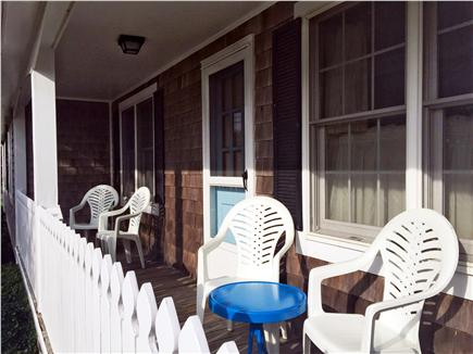 East Orleans Cape Cod vacation rental - Enjoy your cup of coffee from the porch to watch the world go by.