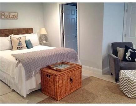 Falmouth Heights Cape Cod vacation rental - Lower level - Queen in open layout