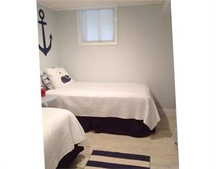Falmouth Heights Cape Cod vacation rental - Lower level - Two twin beds located off of Queen bedroom