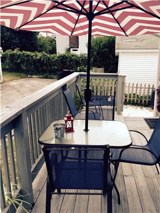 Falmouth Heights Cape Cod vacation rental - Enjoy the beautiful deck