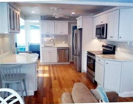Falmouth Heights Cape Cod vacation rental - Renovated kitchen with stainless steel appliances