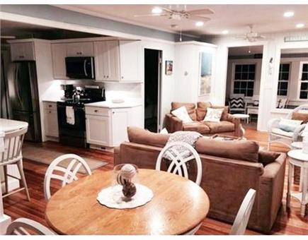 Falmouth Heights Cape Cod vacation rental - Open Kitchen Layout to Living Room
