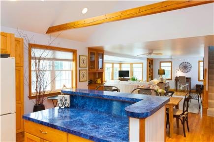 Harwich Port Cape Cod vacation rental - Kitchen to living room