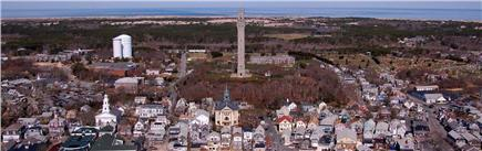 Provincetown Cape Cod vacation rental - View of town from air