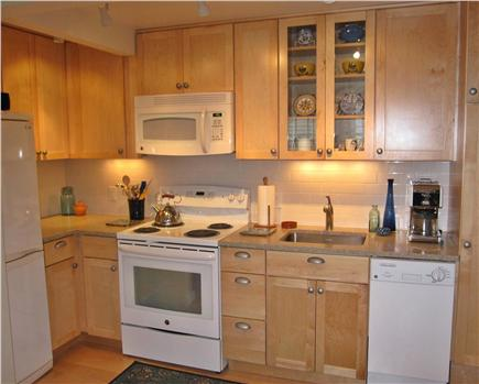 Provincetown Cape Cod vacation rental - New Kraftmaid kitchen with all new appliances