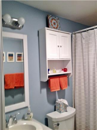 Provincetown Cape Cod vacation rental - First floor bathroom