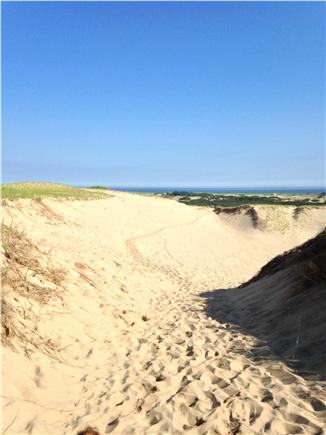 Truro Cape Cod vacation rental - Dune trail 5 minutes away