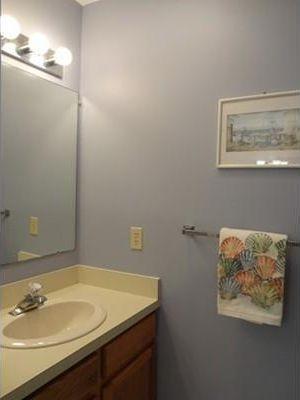 Ocean Edge, Brewster Cape Cod vacation rental - Full size bathroom upstairs