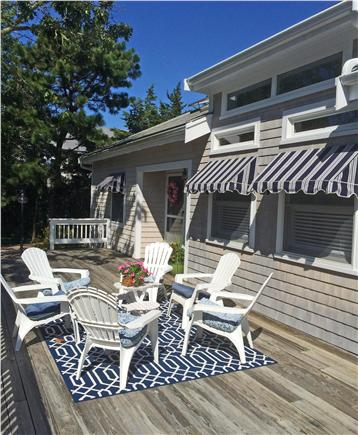 West Harwich Cape Cod vacation rental - Lovely deck area – great for outdoor dining