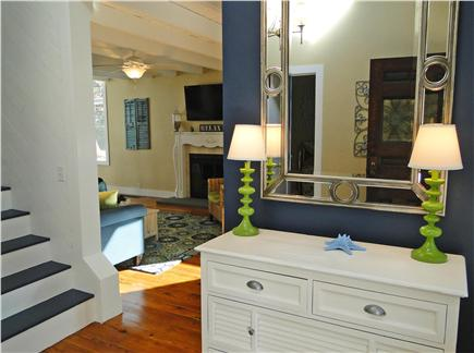 West Harwich Cape Cod vacation rental - Entrance way, new paint and furnishings throughout