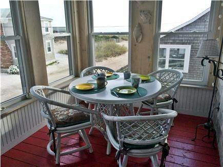 West Dennis Cape Cod vacation rental - Front Porch for Morning Coffee