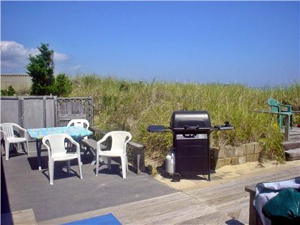 Sagamore Beach Sagamore Beach vacation rental - Back deck is just steps from the beach
