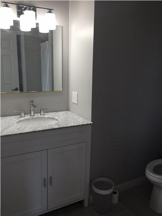 Dennisport Cape Cod vacation rental - Suite bathroom (shower with separate tub)