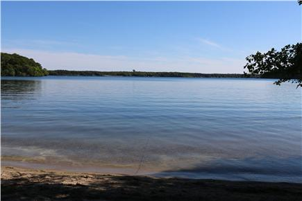 Brewster Cape Cod vacation rental - View of Sheep Pond. Known as the cleanest pond on the cape.