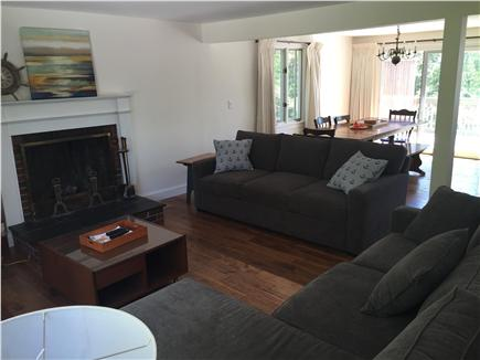 Brewster Cape Cod vacation rental - Open concept living room.