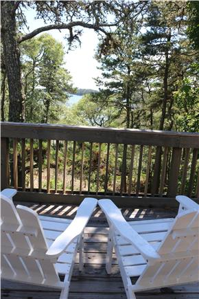Brewster Cape Cod vacation rental - View of Long Pond from the deck