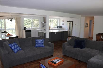 Brewster Cape Cod vacation rental - Brand new kitchen over looking Long Pond.