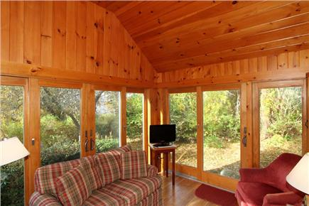 East Orleans Cape Cod vacation rental - Endless light in the sun room