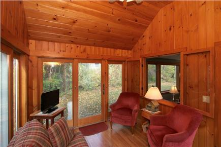 East Orleans Cape Cod vacation rental - Additional living space in sun room