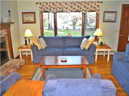 Eastham Cape Cod vacation rental - Bright, comfortable living room with ample seating