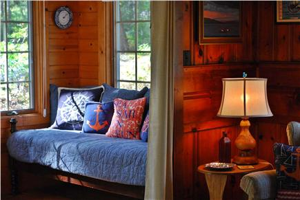 Dennis Cape Cod vacation rental - Day Bed / Couch In Sun Room