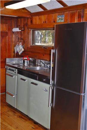 Dennis Cape Cod vacation rental - Fully Equipped Retro Kitchen W/Pots, Pans, & Silverware.