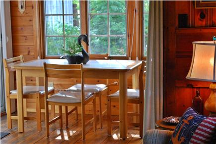 Dennis Cape Cod vacation rental - Dine Inside At Table In Sunroom