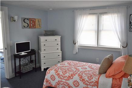 Barnstable, Coast of Hyannis Cape Cod vacation rental - 2nd bedroom with bureau and TV with DVD and PS3 gaming system.