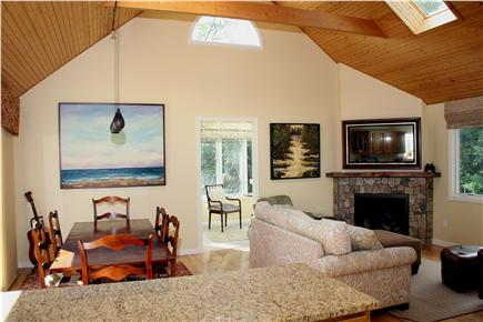 Eastham Cape Cod vacation rental - Open dining and family room
