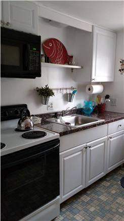 Eastham Cape Cod vacation rental - Kitchen in cottage