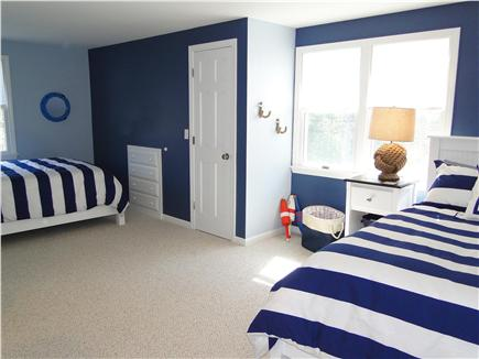 Harwich Cape Cod vacation rental - Upstairs bedroom with two double beds
