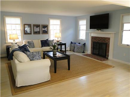 Harwich Cape Cod vacation rental - Bright spacious living room with flat screen TV