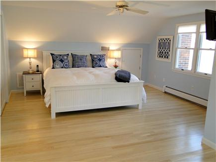 Harwich Cape Cod vacation rental - Large upstairs Master Bedroom with king bed, flat screen TV
