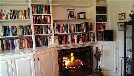 Harwichport Cape Cod vacation rental - 2 gas fireplaces