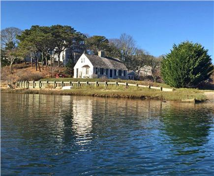 Chatham Cape Cod vacation rental - View of house from boat