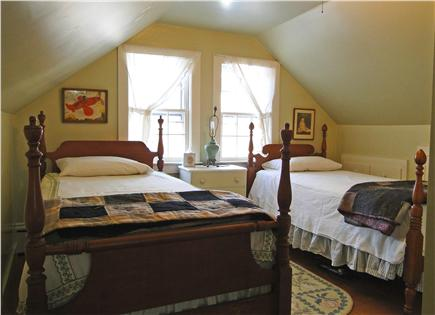 Chatham Cape Cod vacation rental - Twin beds upstairs