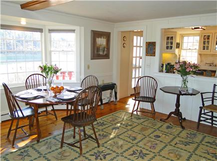 Chatham Cape Cod vacation rental - Living room, dining area, adjacent to kitchen