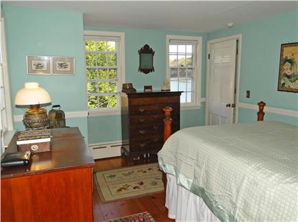 Chatham Cape Cod vacation rental - Master bedroom on the first floor, water views