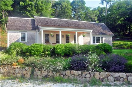 Truro Cape Cod vacation rental - Longnook Meadows Farm - Cottage Front - Faces South