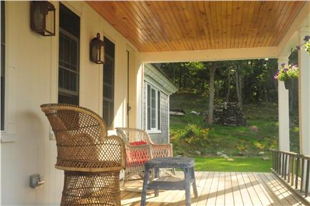 Truro Cape Cod vacation rental - Front Porch - enjoy the Sunrise and incredibly star filled sky